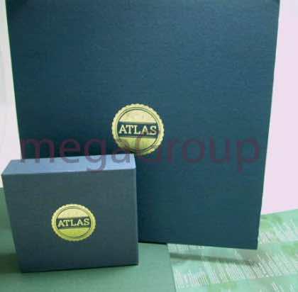 Vinyl Box Set & CD Box Set matching Linen Wrap Gold Foil