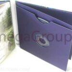 Swinging SLeeve Blue Matte Unprinted Oria