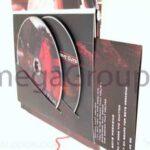 Swinging Sleeve DVD 5x7 height 2 disc set multidisc