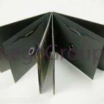 Swinging Sleeves Black Matte Die Cut Hole Multidisc