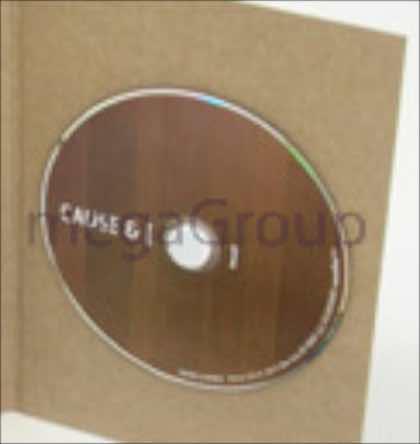 CD held with white foam hub