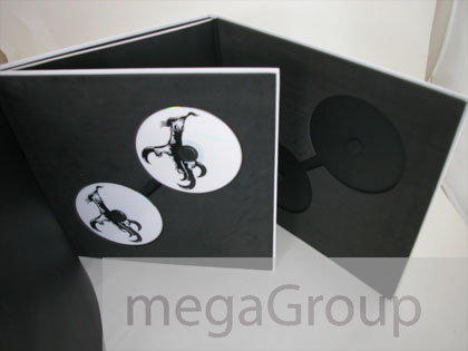 Vinyl Sized Books for CDs