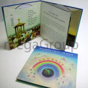 Custom Sized CD Book Printing 6x6