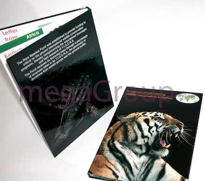 DVD Book with Clear Tray Right Side