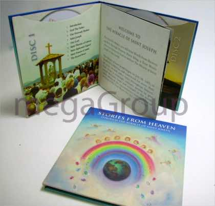Custom Sized CD Book Printing 6x6