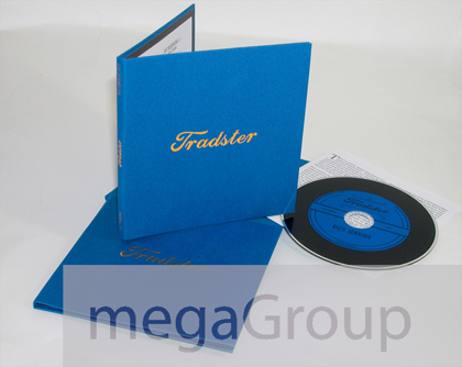 Linen Wrapped LP CD Size