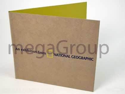 National Geographic CD jacket with cork hub eco-friendly packaging