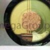 Cork hub closeup with disc