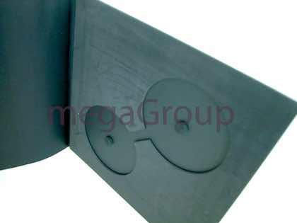 Vinyl Book for CDs foam insert disc holders